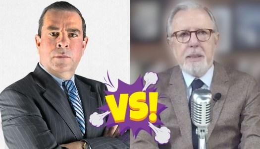 López Dóriga defiende a Calderón y Álvaro Delgado lo deja en ridículo