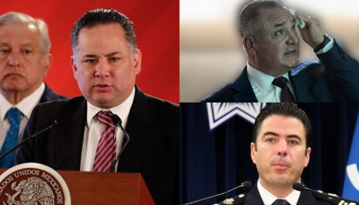 Gobierno de AMLO va con todo contra García Luna y Luis Palomino