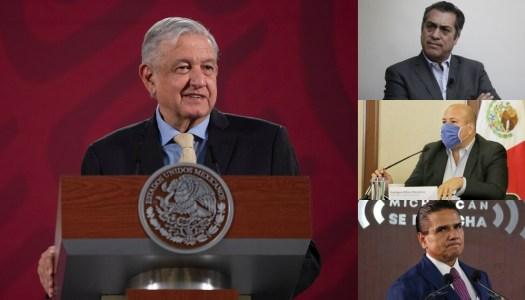 Gobernadores gastalones del PRIANRDMC, en la mira de AMLO