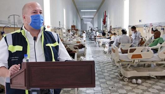 Alfaro da más de 100 MDP a hospital privado; deja a públicos con carencias