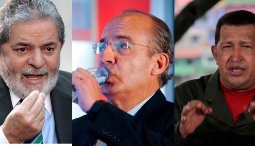 Así agredió Felipe Calderón a mandatarios de América Latina