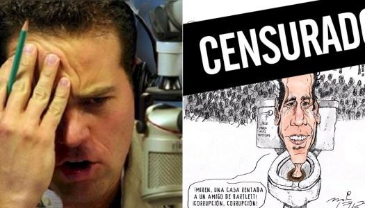 Miles lo critican por censurar a monero y Loret los tacha de bots de AMLO