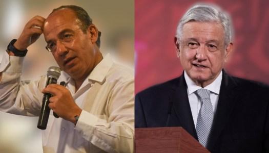 Desesperado, Calderón le pide a AMLO olvidar el caso García Luna