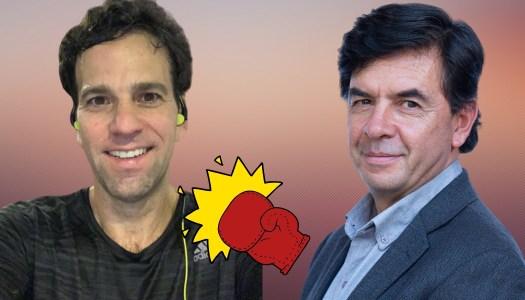 Loret de Mola lloriquea censura de AMLO y Jesús Ramírez lo noquea