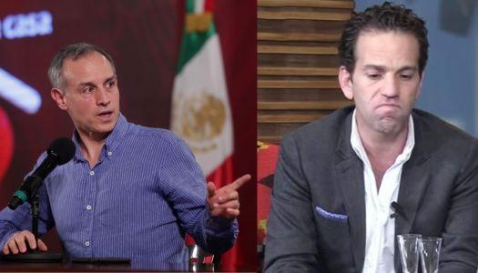 Carlos Loret estalla contra López-Gatell; le molesta que lea poesía