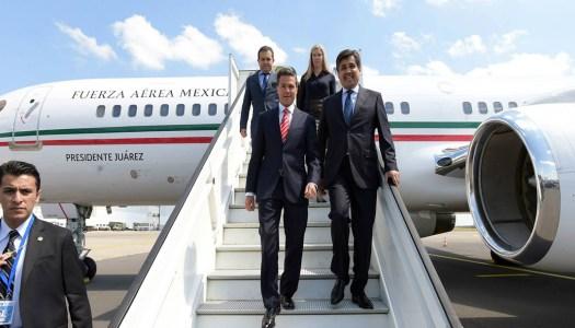 Peña Nieto gastó 313 millones en 83 viajes en el avión presidencial