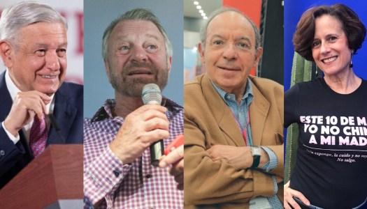 AMLO pone en su lugar a Jorge Castañeda, Aguilar Camín y Dresser por clasistas