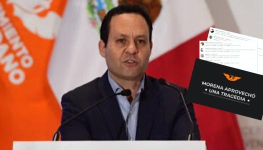 MC hostiga a tuiteros pro 4T por condenar el asesinato de Giovanni López