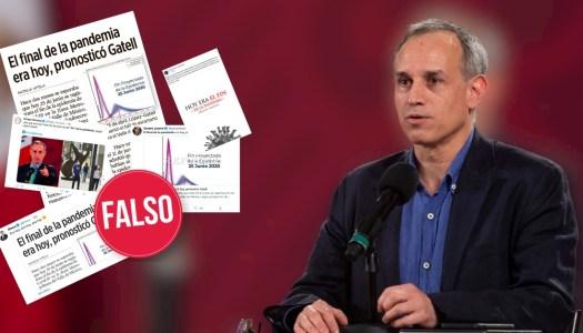 López-Gatell humilla a opositores que mintieron sobre fin de la pandemia