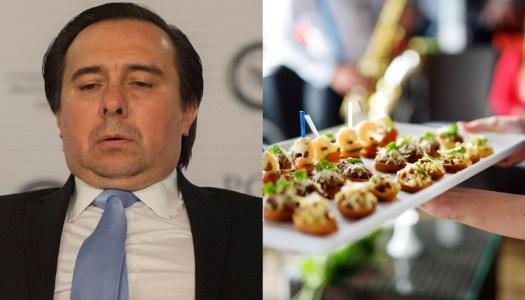 Tomás Zerón se gastó 15 millones en lujosos banquetes