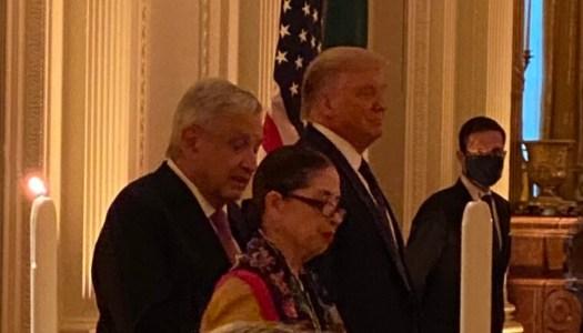 Trump a empresarios mexicanos: AMLO es audaz, el mejor Presidente que han tenido