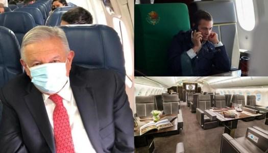 Presidente austero: AMLO gastó en viaje a EU 18 veces menos que Peña
