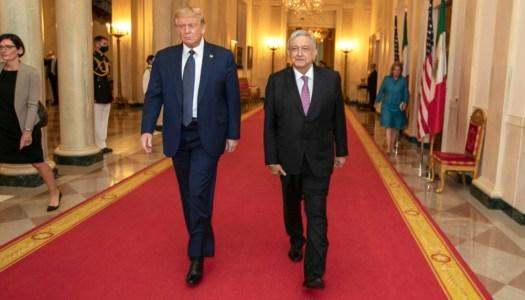 AMLO, el presidente que llegó a pie a Washington y cantó victoria