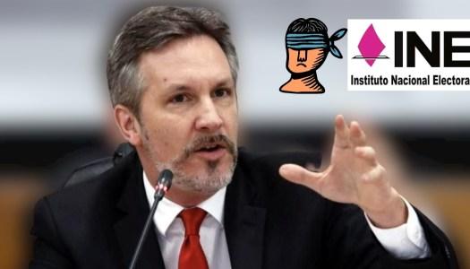 PRIAN secuestra elección de consejeros del INE; Ackerman lo denuncia