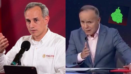 López Gatell a Ciro Gómez Leyva: la infodemia puede matar