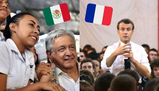 Francia le copia a AMLO el programa para dar empleo a jóvenes