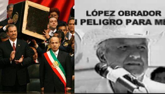 """Calderón afirma que él no hizo guerra sucia en 2006; que él la """"recibió"""""""