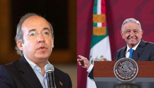 AMLO pone a Calderón contra las cuerdas y le recuerda su pasado narco