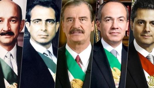 9 de cada 10 mexicanos a favor de enjuiciar a ex Presidentes del PRIAN