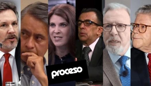 Directivos de Proceso se lanzan contra Ackerman; López Dóriga y Sarmiento festejan