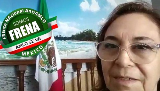 "Militante de Frenaaa llama  ""Manuel Andrés"" a AMLO; en redes se la acaban"