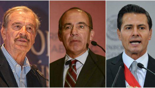 Fox, Calderón y Peña Nieto triangularon miles de millones con factureras