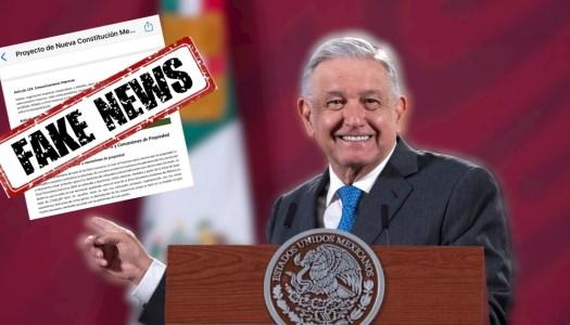 AMLO no creará nueva constitución para expropiar bienes y casas