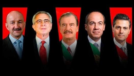 4T conforma bloque para enjuiciar a expresidentes de México