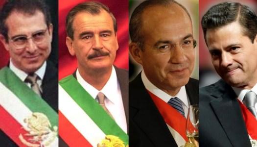 Con Zedillo, Fox, Calderón y EPN, México adquirió deuda de 11 billones