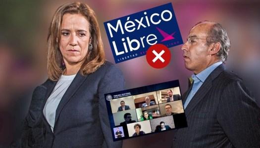 Calderón no tendrá partido: Tribunal manda al basurero a México Libre