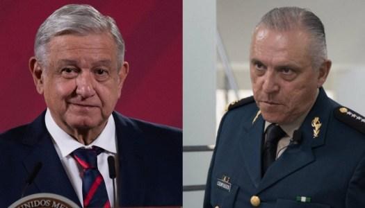 AMLO promete que no habrá impunidad para el general Cienfuegos