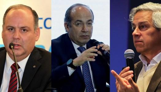 Claudio X. González y De Hoyos fichan a Calderón en Sí por México