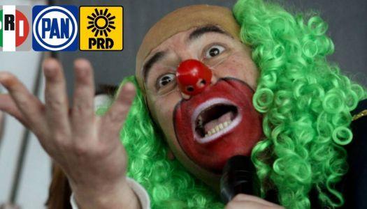 Brozo: de ser una estrella más de Televisa a pedir el voto para el PRIAN
