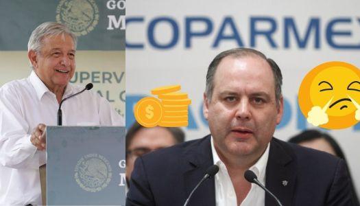 La Coparmex estalla porque AMLO subió el salario mínimo