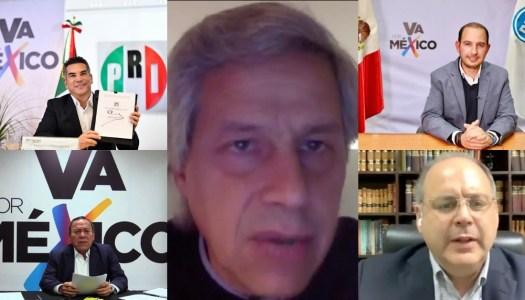 Ya es oficial: PRI, PAN y PRD se unen contra AMLO y Morena