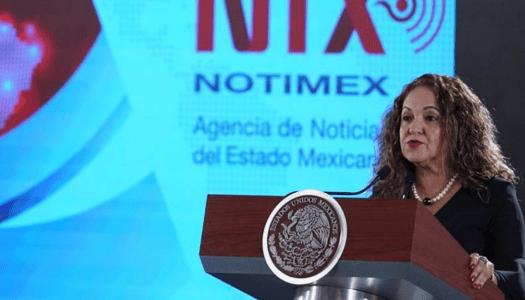 Ante llamado de AMLO, Notimex reitera apertura al diálogo