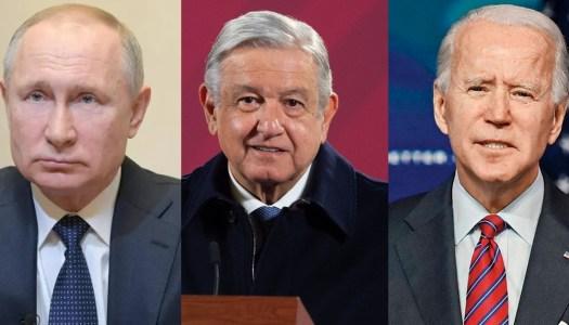 AMLO como Putin: felicitó a Biden hasta tener reconocimiento como ganador