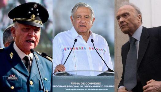 Expediente de DEA vs Cienfuegos no tenía pruebas; lo transparentará AMLO