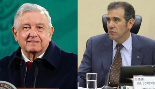 AMLO se lanza contra Lorenzo Córdova por querer censurar las mañaneras