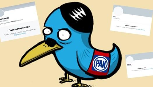 Twitter censura y suspende cuentas de influencers proAMLO