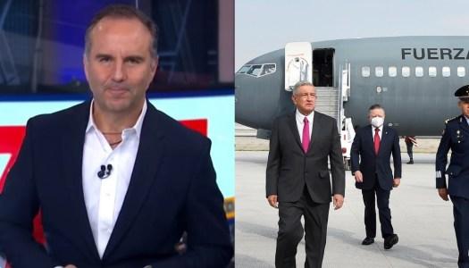 Esteban Arce se burla del nuevo aeropuerto que construye AMLO y lo tunden en redes