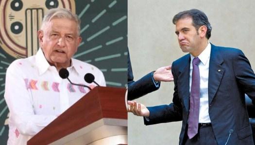 AMLO exhibe épicamente a Lorenzo Córdova recordándole su racismo