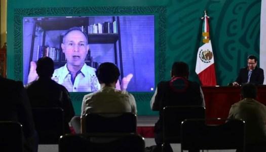 López-Gatell reaparece en la vespertina y anuncia que todavía tiene covid