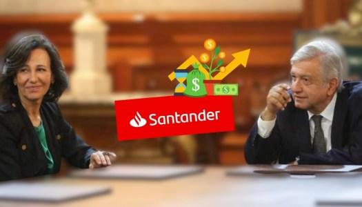 Santander pronostica que PIB de México crecerá un 5.3% con AMLO