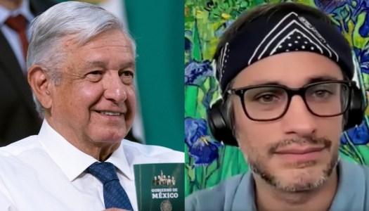 """Gael García dice que """"esperaba más"""" del gobierno de AMLO"""