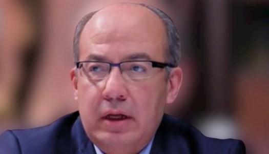Calderón está en la mira de la FGR por desviar 300 mil millones de pesos