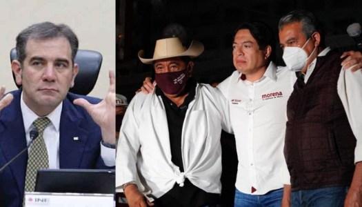 INE quita candidaturas a Salgado y Raúl Morón; Morena impugnará