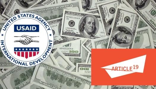 ¿Qué es la USAID? la polémica agencia de EU detrás de Artículo 19