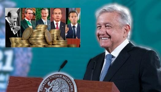 AMLO puso fin a la Partida Secreta, usada por exPresidentes para robar