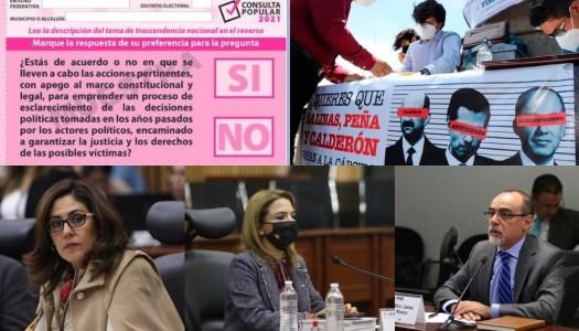 Consejeros del INE se niegan a aprobar boleta para consulta sobre ex Presidentes